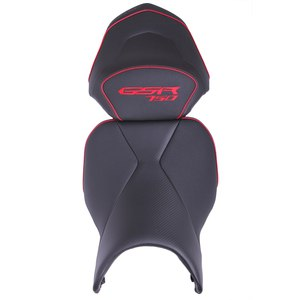 Selle confort Ready Luxe Noir Liseré Rouge