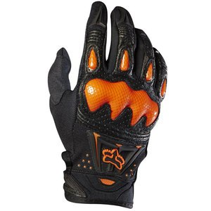 Gants cross BOMBER - NOIR ORANGE -  2018 Noir/Orange