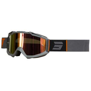 Masque cross Shot IRIS - FASHION - GREY ORANGE MATT 2021