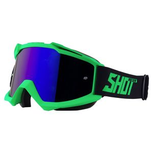 Masque cross IRIS - NEON GREEN MATT 2021 Green