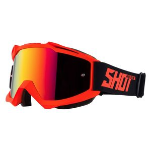 Masque cross IRIS - NEON ORANGE MATT 2021 Orange