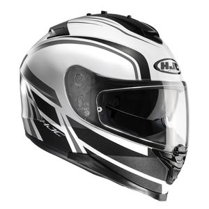 Casque IS 17 - CYNAPSE  Noir/Blanc/Gris