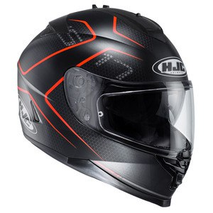 Casque IS 17 - LANK  Noir/Rouge