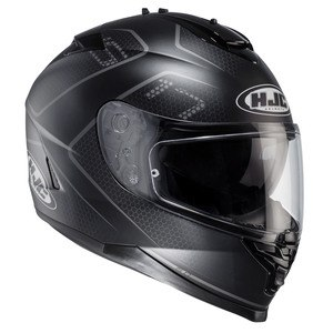 Casque IS 17 - LANK  Noir/Gris