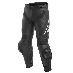 Pantalon DELTA 3 LEATHER  Black/Black/White