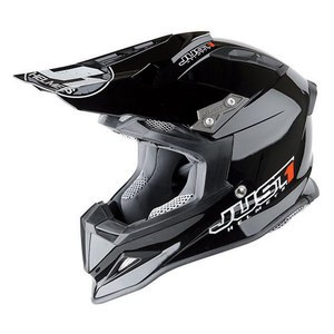 Casque Cross Just1 J12 - Solid Noir 2017