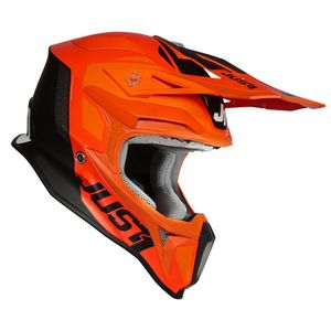 Casque cross J18 PULSAR ORANGE / WHITE / BLACK GLOSS 2020 Orange/White/Black