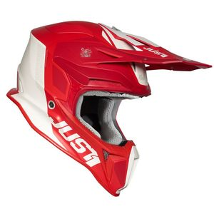 Casque cross J18 PULSAR RED / WHITE MATT 2020 Red/White