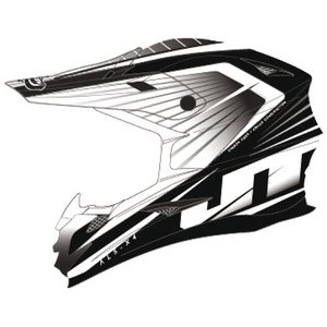 Casque Cross Jt Racing Als-x4 Razor Black/white2014