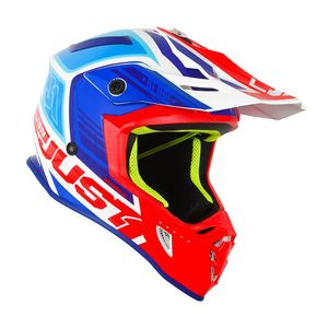 Casque cross J38 BLADE BLUE/RED/WHITE GLOSS 2020 Blue/Red/White
