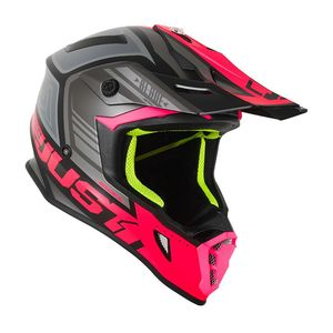 Casque cross J38 BLADE FLUO FUSHIA/BLACK MAT 2020 Fluo Fushia/Black