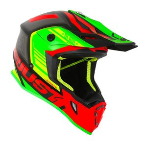 Casque cross J38 BLADE RED/LIME/BLACK MAT 2020 Red/Lime/Black