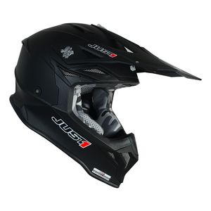 Casque cross J39 SOLID BLACK MATT 2020 Noir