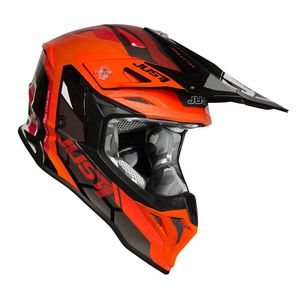 Casque cross J39 REACTOR FLUO ORANGE / BLACK GLOSS 2021 Fluo Orange/Black