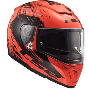 Casque FF390 - BREAKER - SWAT  Fluo Orange Black