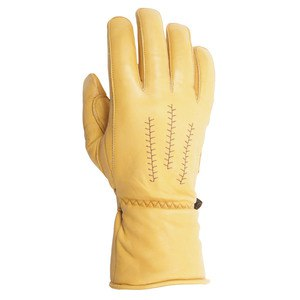 Gants JEFF - cuir SOFT gold  Gold