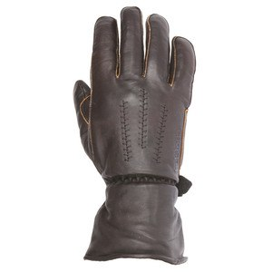 Gants JEFF - cuir PULL-UP  Marron