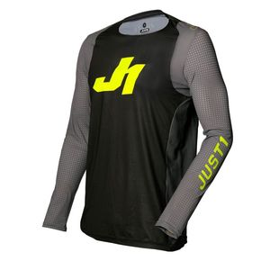 Maillot cross J-FLEX ARIA DARK GREY / FLUO YELLOW 2020 Dark Grey/Fluo Yellow