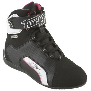 Baskets JET LADY D3O SYMPATEX  Noir/Blanc/Rose