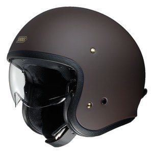 Casque J.O - MAT  Marron mat
