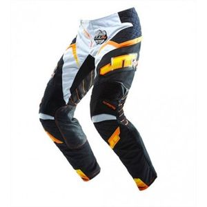 Pantalon Cross Jt Pantalon Evo Protek Race Noir Blanc Orange