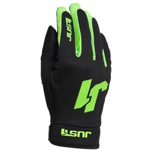 Gants cross J-FLEX BLACK / FLUO GREEN 2020 Black/Fluo Green