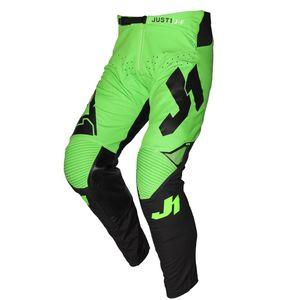 Pantalon cross J-FLEX ARIA BLACK / FLUO GREEN 2021 Black/Fluo Green