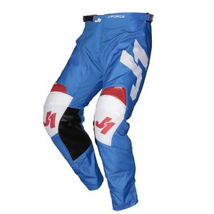 Pantalon cross J-FORCE TERRA BLUE / RED / WHITE 2020 Blue/Red/White