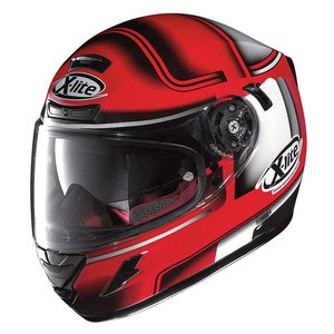 Casque X-702 GT - OFENPASS N-COM  Corsa red 44