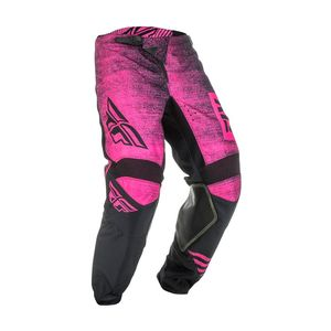 Pantalon Cross Fly Kinetic Noiz - Neon Pink Black 2019