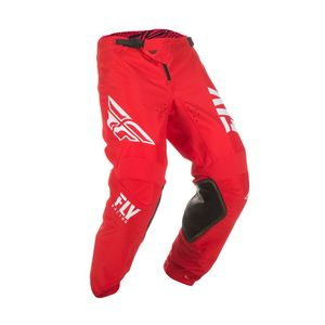 Pantalon cross KINETIC SHIELD - RED WHITE 2019 Red White