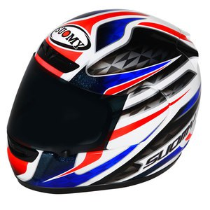 Casque APEX FRANCE  Bleu/Blanc/Rouge