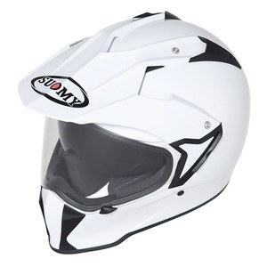 Casque MX TOURER PLAIN  White