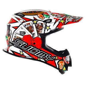 Casque cross MR JUMP JACKPOT 2017 Blanc