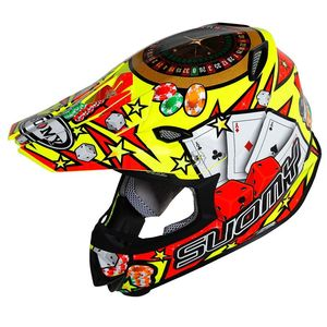 Casque cross MR JUMP - JACKPOT - YELLOW 2019 Jaune