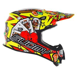 Casque cross MR JUMP JACKPOT 2017 Jaune