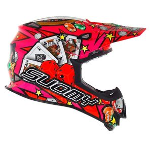 Casque cross MR JUMP JACKPOT 2017 Rose