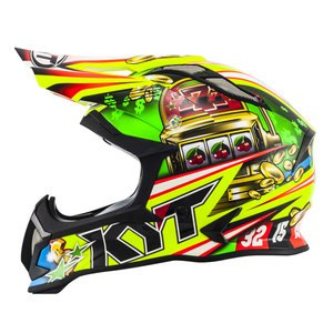 Casque Cross Kyt Strike Eagle Roulette 2017