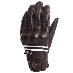 Gants LADY EDWIN  Marron/Ecru