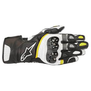 Gants SP-2 V2  Black/White/Yellow