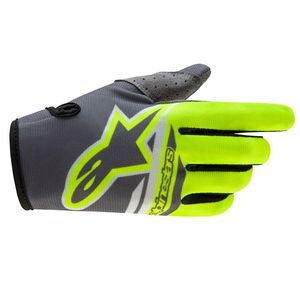 Gants cross RADAR FLIGHT Edition limitée ANGEL 2018 Black/Yellow