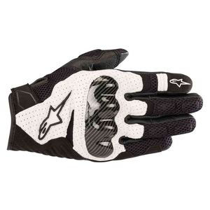 Gants SMX-1 AIR V2  Black/white