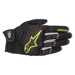 Gants ATOM  Black/Yellow fluo