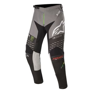 Pantalon cross RAPTOR - MONSTER - BLACK GRAY BRIGHT GREEN 2020 Black Gray Green