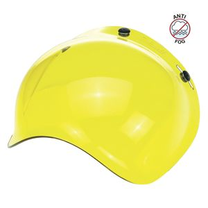 Ecran casque BUBBLE YELLOW - GRINGO  Jaune