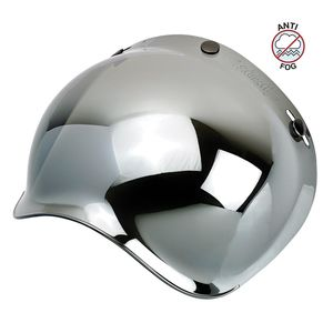 Ecran casque BUBBLE MIRROR - GRINGO  Chrome