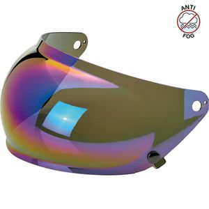 Ecran casque BUBBLE MIRROR - GRINGO S  Rainbow