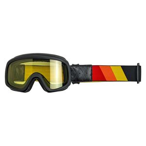 Lunettes moto TRI-STRIPES  Red Orange Yellow