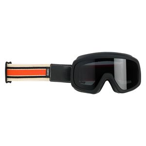 Lunettes moto RACER  Black Orange