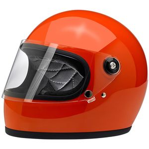 Casque GRINGO S - GLOSS COLOR  Hazard Orange